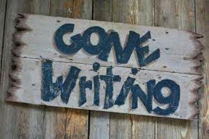 gone-writing